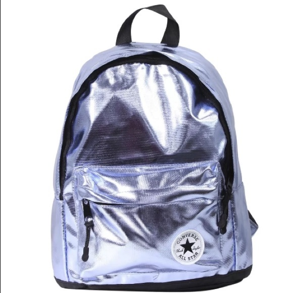 4da6305df31e NWT Converse All Star Metallic Backpack Light Blue